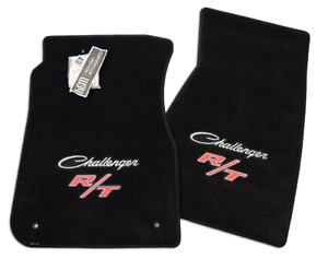 1970 1971 1972 1973 1974 Dodge Classic Challenger R t Floor Mats Black 2pc