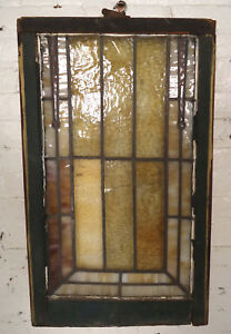 Vintage American Stained Glass Panel 00441 Ns