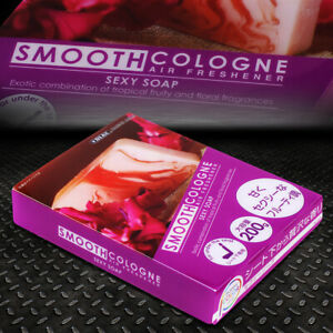 Smooth Cologne Sexy Soap Scent Fragrance Gel 200g Car toilet Air Freshener Box