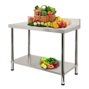 Stainless Steel Kitchen Work Prep Table Heavy Duty Commercial Table 60 X 24