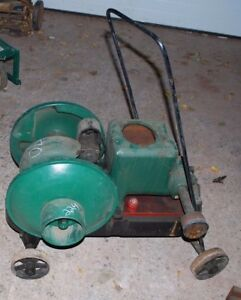 2 Hp Fairbanks Morse Model Z Gas Engine Motor On Truck Cart Wheels Complete