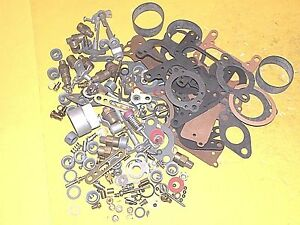 Zenith Carburetor Assorted Parts Lot
