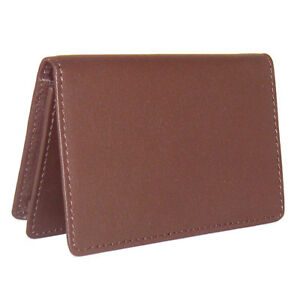 Royce Leather Business Card Holder Burgundy Business Accessorie New