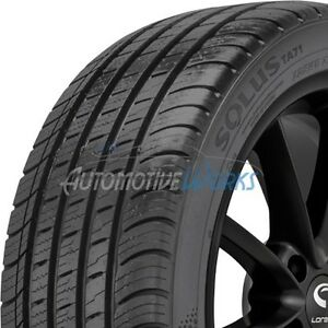 2 New 225 55 17 Kumho Solus Ta71 Ultra High Performance 600aa Tires 2255517