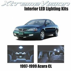 Xtremevision Led For Acura Cl 1997 1999 9 Pieces Cool White Premium Interior L