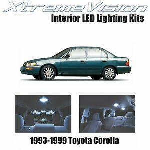 Xtremevision Led For Toyota Corolla 1993 1999 4 Pieces Cool White Premium Inte