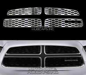 Fits Dodge Charger 2011 2014 Chrome Snap On Grille Overlay Grill Inserts Covers