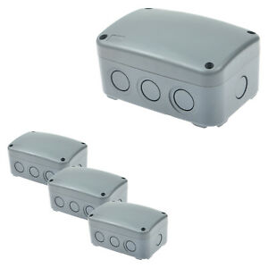 4 Pack Ip66 Weatherproof Junction Box Enclosure Waterproof Weatherproof New