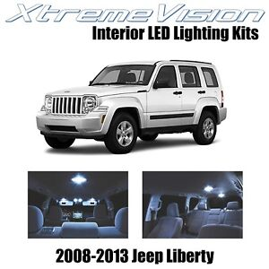 Xtremevision Led For Jeep Liberty 2008 2013 9 Pieces Cool White Premium Interi