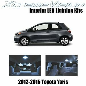 Xtremevision Led For Toyota Yaris 2012 2015 6 Pieces Cool White Premium Interi