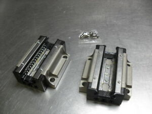 Thk Hsm25 Linear Bearing W Slide Rail Taken Off A New Conveyor