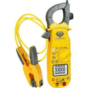 Uei True Rms Clamp Meter With Pipe Clamp Probe