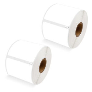 2 Rolls Of 300 Large Ship Labels 30256 For Dymo Labelwriter 400 450 2 5 16 X 4