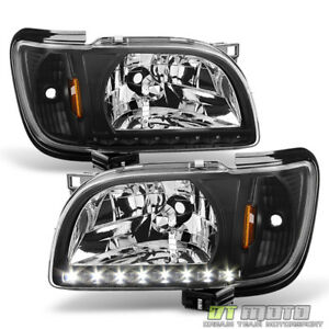 For 2001 2002 2003 2004 Toyota Tacoma Headlights W led Lights 2in1 Corner Signal