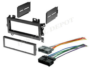 Complete Car Stereo Radio Install Dash Trim Kit Wire Harness Do It Yourself