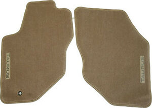 New Oem Floor Mats For Ford Taurus Medium Parchment Tan Front 96 07