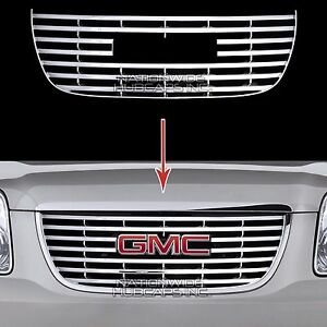 2007 14 Gmc Yukon Sle Slt Chrome Snap On Grille Overlay Front Grill Cover Insert