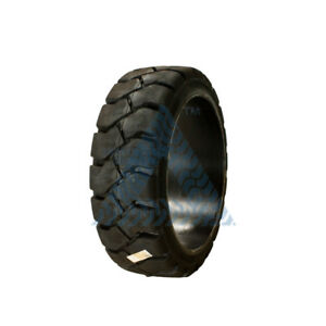 18x6x12 1 8 Tire new Solid Forklift Tire Black Traction 18x6x12 125