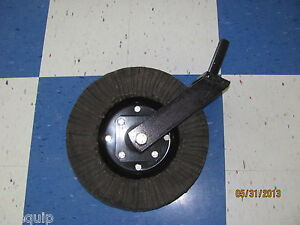 King Kutter Tailwheel Assembly Complete 1 1 4 Shank Rotary Cutter Bush Hog
