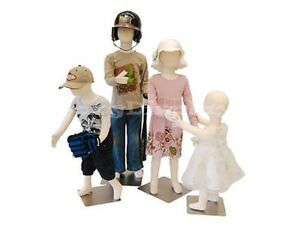 4 Children Bendable Pinnable Full Body Form Flexible 1357t ch1357t