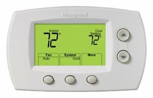 Honeywell Th5320r1002 Wireless Focus Pro 5000 Non programmable Thermostat