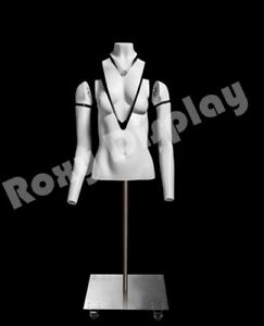 Female Invisible Ghost Mannequin Torso Form Magnetic Fittings mz gh1 2f