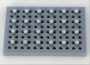 96 Well Magnetic Bead Separation Separator Stand Rack Pcr Plate 0 2ml Strip Tube