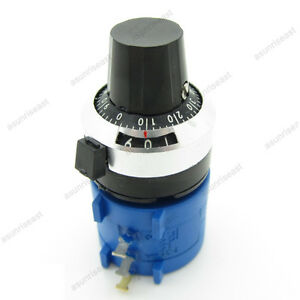 With Turn Counting Dial 1k Ohm 3590s 2 102l Rotary Potentiometer Pot 10 Turn