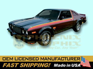 1978 Plymouth Volare Super Coupe Complete Decals Stripes Kit