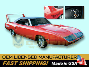 1970 Superbird Wing Nosecone Plymouth Road Runner Decals Complete Stripes Kit