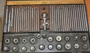 Sioux Valve Seat Reamer With Taper Pilots And Indicator Tool Nice