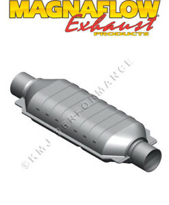 Magnaflow 41005 Universal Fit 2 25 In out Odbii 50 state Catalytic Converter