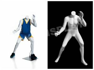 Headless Child Mannequin Playing Basketball Pose Display Dress Form mz kbk 1