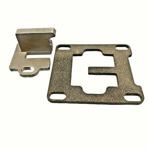 Stainless 5 Fuel Plate And Mount 1994 1998 Dodge P7100 Fits Cummins 5 9l 12v 97