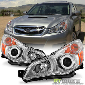 2010 2014 Subaru Legacy Outback Headlights Headlamps Left Right 10 11 12 13 14