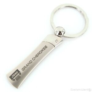 Jeep Grand Cherokee Blade Chrome Key Chain