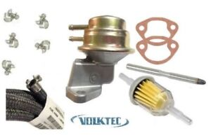 Fuel Pump Kit Alternator Style Look For Generator 1960 70 Vw Beetle Bug Bus Van