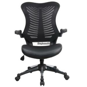 Modern Office Ergonomic Mesh Back Chair With Adjustable Headrest And Armrest Us