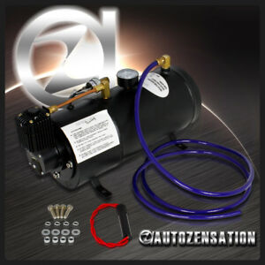 0 8 Gallon 150 Psi Compressor Air Tank Kit 12v Train Truck Rv Pickup Air Horn