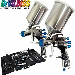 Devilbiss Slg 650 Compliant Spray Gun Hvlp Gun Spray Paint Air Painting Kit