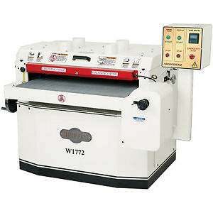 Shop Fox W1772 10 Hp 37 Drum Sander