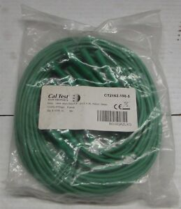 Cal Test Electronics Ct2162 4mm Banana Plug To Plug Test Lead Green 10 Pack