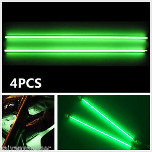2 6 2 12 Car Green Undercar Underbody Neon Kit Lights Ccfl Cold Cathode Tube