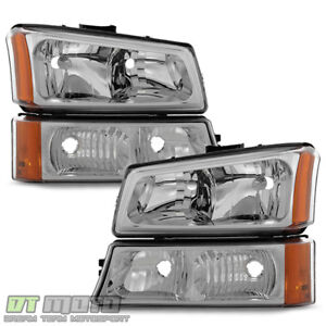 2003 2006 Chevy Silverado 1500 2500 Avalanche Headlights Bumper Signal Lights