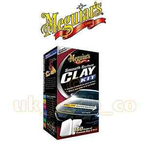 Meguiars Smooth Surface Clay Kit Clay Bar Paint Repair