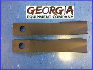 2 4ft King Kutter Ashley Brooks County Line Bush Hog Rotary Cutter Blades 501118