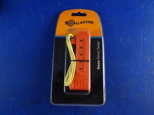 Gallagher Electric Fencing Neon Fence Tester G015019 W1 End C11