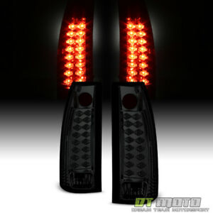 Smoke 1988 1998 Chevy Silverado Tahoe Suburban Yukon Lumileds Led Tail Lights