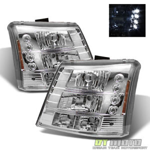 2003 2006 Chevy Silverado Suburban Tahoe Range Rover Style 2in1 Led Headlights