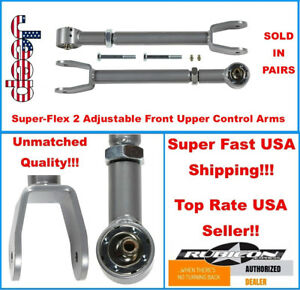 Adjustable Upper Front Control Arms For 00 2000 Jeep Xj Cherokee